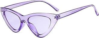 Inlefen Fashion Cat Eye Sunglasses Vintage Mod Style Retro Eyewear