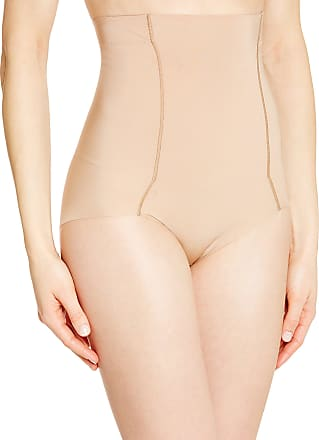 Wacoal Womens BEAUTY SECRET Culotte gainante Plain or unicolor Girdle - Beige - Skin - 10 (Brand size: M)