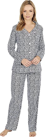 Forever Dreaming Ladies 100% Brushed Cotton Pyjamas Leopard Print Size X-Large