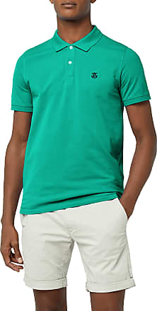 Selected HOMME Mens Shharo Ss Embroidery Polo Noos T-Shirt, Turquoise (Peacock Green), Medium