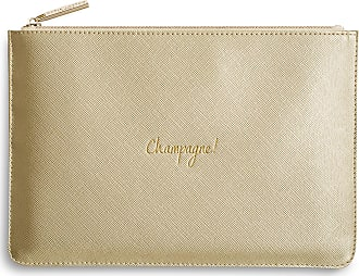 Katie Loxton Perfect Pouch Champagne Metallic Gold