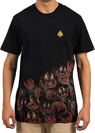 MCD Camiseta Regular Mcd Skull Flame - P