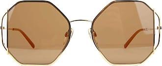 Ana Hickmann Óculos de Sol Ana Hickmann Ah3185 04b/55 Dourado