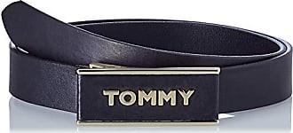 a80ab2be2559 Tommy Hilfiger Th Plaque Belt 2.5, Ceinture Femme, Noir (Black 002),