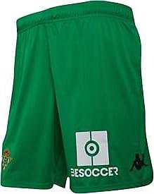Kappa regular fit RBB Real Betis home shorts with KOMBAT technology