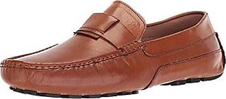 Zanzara Mens Newton Driving Style Loafer, Cognac, 11 M US