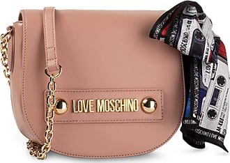 Love Moschino Tie Detail Crossbody Bag in Pink - pink - NOSIZE
