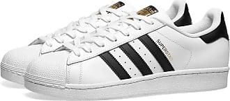 adidas Superstar weiße & schwarze Schuhe FU7712 - leather | cloud white | 38