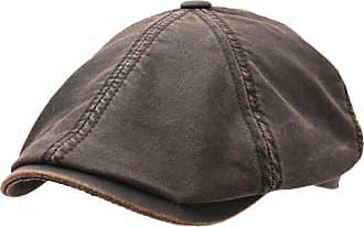 Stetson Sun Guard Vintage Bakerboy Cap Hat Brooklin 6 Brown S-XXL NEW