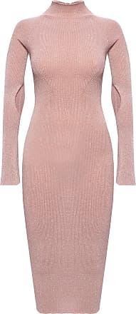 Lanvin Roll Neck Dress Womens Pink