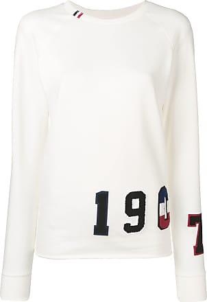 Rossignol flocked sweatshirt - White