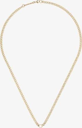 Zoë Chicco Zoë Chicco 14k Yellow Gold Curb Chain Diamond Necklace