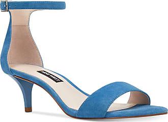Nine West womens 25026410 Leisa Fabric Blue Size: 4 UK