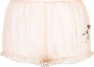 Kiki De Montparnasse Caroline Vreeland Shorts - Nude