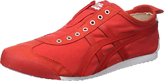 Onitsuka Tiger Mens Mexico 66 Slip-On D3K0N-6 Trainers, Red (red D3K0N-600), 10.5 UK