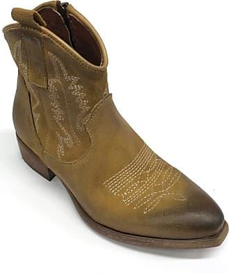 Zoe Art. Newtexric Texan Suede Ankle Boots Heel 30 Brown Size: 6 UK