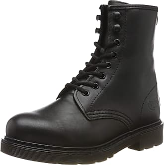 Dockers by Gerli Womens 45en201 Combat Boots, Black (Schwarz 100), 7.5 UK
