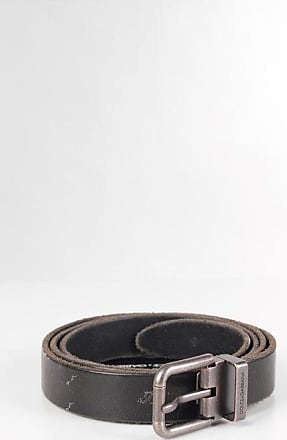 Dolce & Gabbana Cintura in Pelle Effetto Vintage 25mm taglia 110