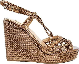 Liu Jo Liu Jo Lucy 17 Brass Womens Wedge Sandal Bronze Brown Size: 6 UK