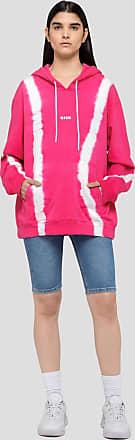 Msgm tie dye hooded sweatshirt