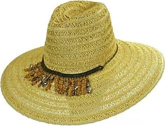 ále by Alessandra Womens Garapoba Ultralight Lace Straw Sun Hat with Beaded, Natural/Sand, One Size