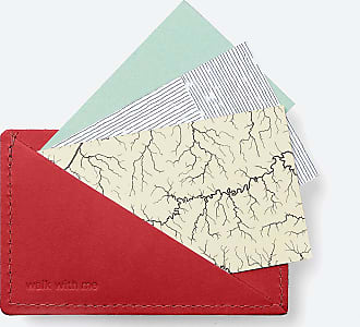 Walk With Me Card Holder by Walk With Me in red