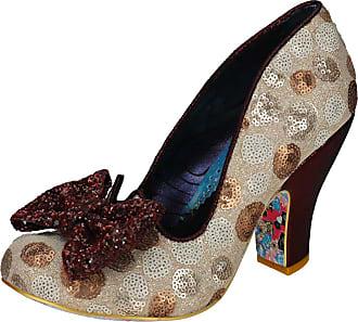Irregular Choice Nick Time Womens Shoes Red Multicolour - 38 EU