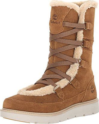 Timberland Womens Kenniston Muk Tall Winter Boot, Medium Brown, 9 C US