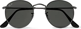 Ray-Ban Round-frame Gunmetal-tone Sunglasses - Gunmetal