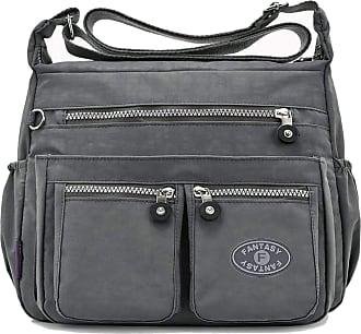 GFM Womens Nylon Waterproof Cross Body Shoulder Bag (S1-171-BH)