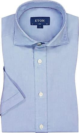 Eton Oberhemd, kurzarm von Eton in Hellblau für Herren