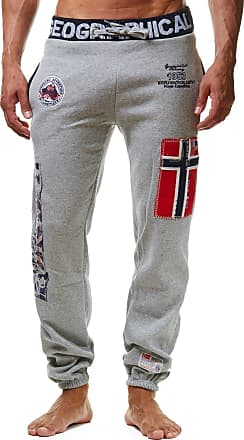 Geographical Norway Myer Mens Sport Jogging Trousers Casual - Grey - XX-Large