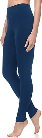 Merry Style Womens Long Leggings MS10-263 (Navy Blue, XXL/168)
