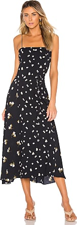 Vince Mixed Ditsy Hibiscus Dress in Navy
