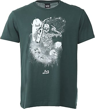 ...Lost Camiseta...Lost Surf Ruined Verde