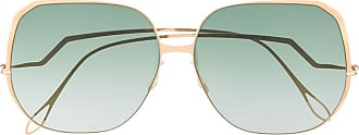 Haffmans & Neumeister Óculos de sol oversized - Dourado