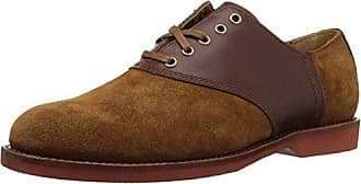 Polo Ralph Lauren Mens Orval Oxford, New Snuff/Brown, 8.5 D US