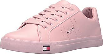 Tommy Hilfiger Womens Luster Sneaker, Blush, 8.5 Medium US