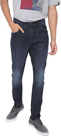 Ecko Calça Jeans Ecko Skinny Estonada Azul
