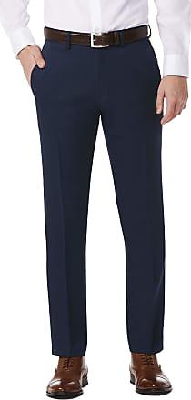 Kenneth Cole Reaction Mens Urban Heather Slim-Fit Pant - Blue - 36W x 32L