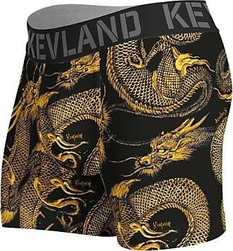 Kevland Underwear CUECA BOXER KEVLAND DARK DRAGON (1, M)
