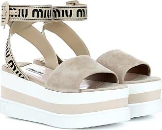 ea145343a34 Miu Miu® Sandals − Sale  up to −70%