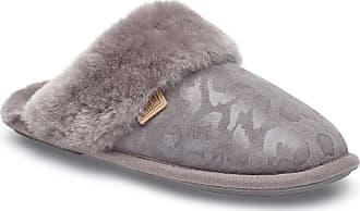 just sheepskin duchess mule