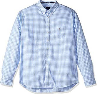 GANT Herren Regular Fit Freizeit Hemd THE POPLIN GINGHAM CHECK LS BD 4556c5098d