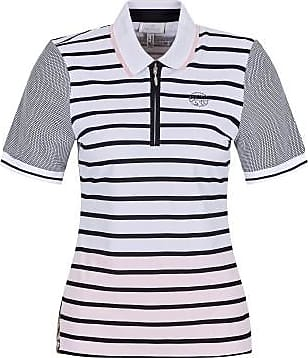 Sportalm Shirt in Streifenoptik und Strickkragen Größe:34