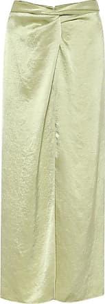 Nanushka Samara hammered-satin skirt