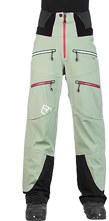 Ortovox 3L Guardian Shell Pants green isar