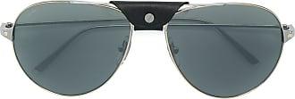 Cartier Óculos de sol Santos de Cartier - Metálico