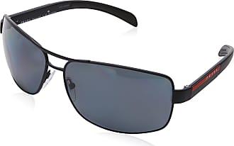 82765de9b7 Prada Sport Mens 0PS54IS DG05Z1 65 Sunglasses, Black Rubber/Polargrey