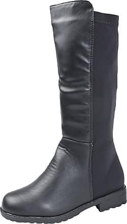 Lora Dora Girls Knee High Stretch Boots PU 11